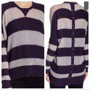 L.A.M.B. Oversized Striped Sweater